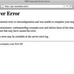 پیغام Internal Server Error فایل های CGI در دایرکت ادمین
