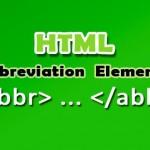 تگ abbr و کاربرد آن در html