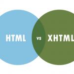 تفاوت بین XHTML و HTML