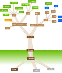 ساختار تگ ها و عناصر HTML