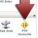 ساخت اکانت FTP در Cpanel