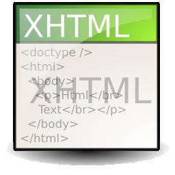 قواعد نوشتاری و سینتکس XHTML