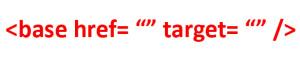 تگ base و کاربرد آن در HTML