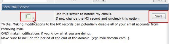 local mail2 غیرفعال کردن Local Mail server در Directadmin