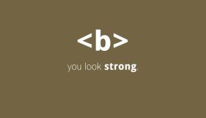 تگ b و کاربرد آن در HTML