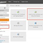 طریقه نصب SSL از طریق WHM