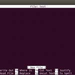 آموزش نصب و استفاده از Nano Text Editor