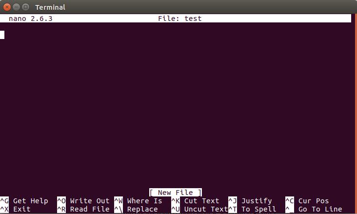 آموزش نصب و استفاده از Nano Text Editor در سیستم عامل CentOS و Ubuntu