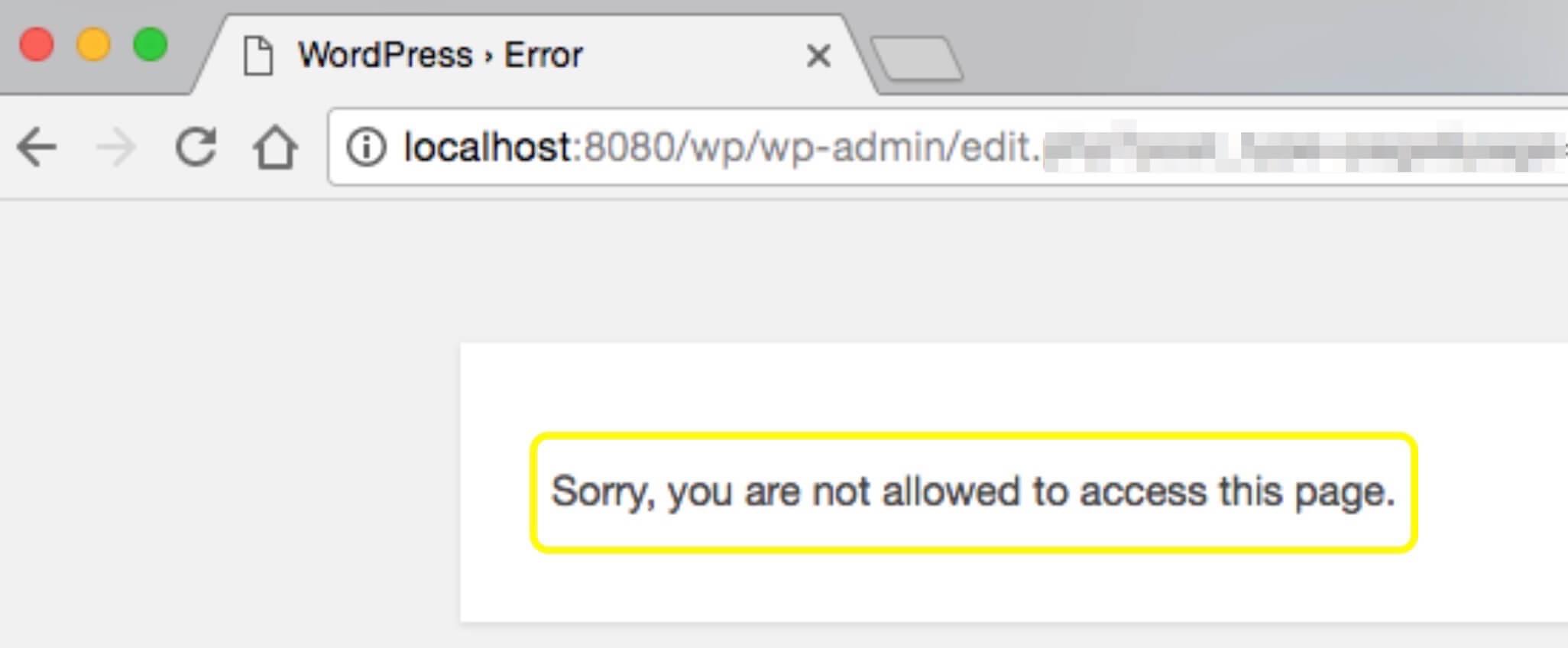 خطای شما اجازه دسترسی به این صفحه را ندارید