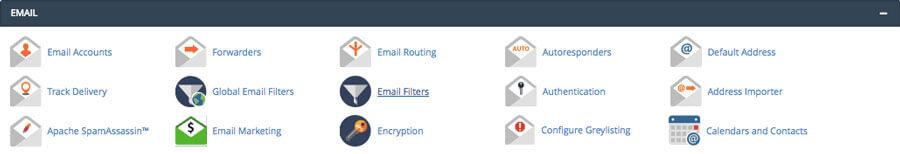 مدیریت ایمیل در سی پنل