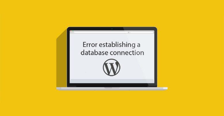 خطای Establishing a Database Connection