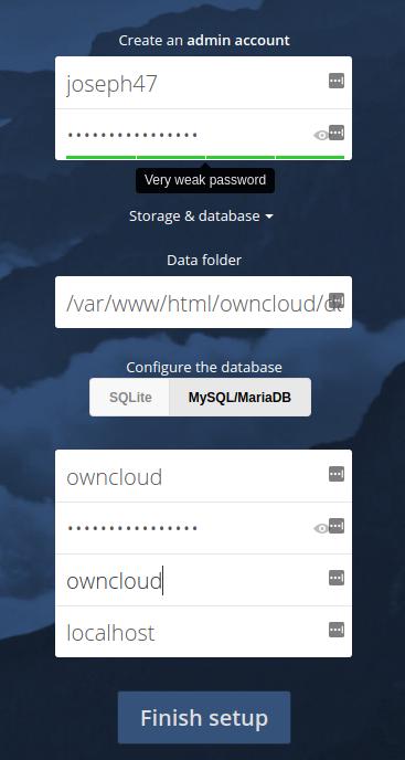 نصب ownCloud روی سرور