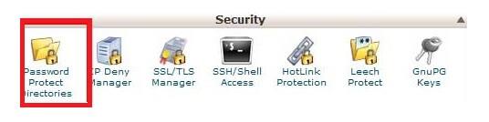 رمزگذاری دایرکتوری wp-admin